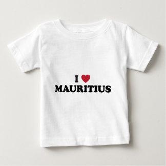 I Love Mauritius Baby T-Shirt