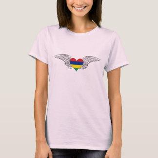 I Love Mauritius -wings T-Shirt