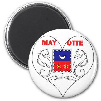I Love Mayotte Magnet