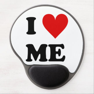 I Love Me Heart Gel Mouse Pads