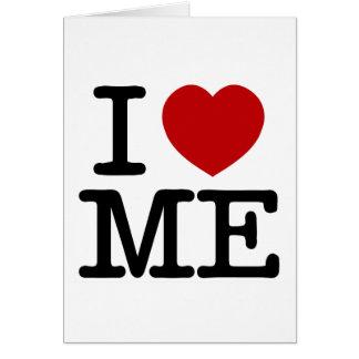 I Love Me Heart Me self esteem confidence dignity Card