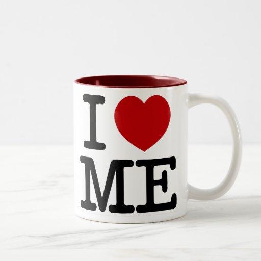 I Love Me Heart Me self esteem confidence dignity Mugs