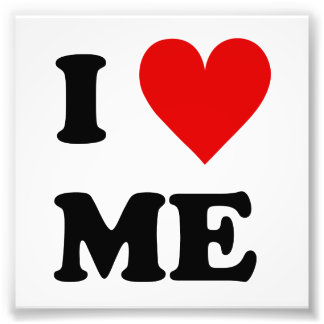I Love Me Heart Photo Print