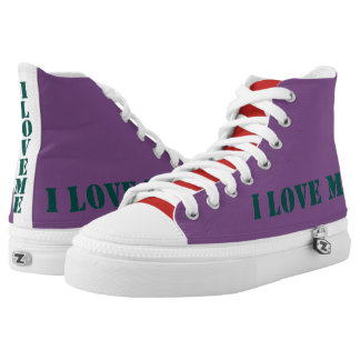I LOVE ME HIGH TOPS