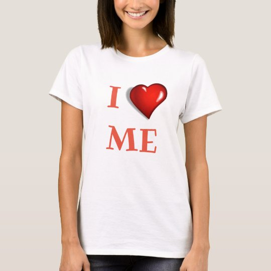 I Love Me with Heart T-Shirt