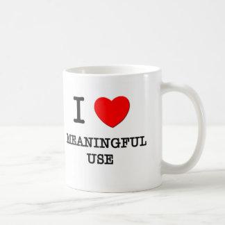 I Love Meaningful Use Mugs