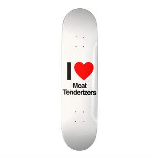 i love meat tenderizers skateboard deck