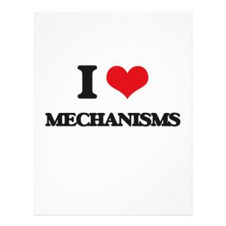 I Love Mechanisms Custom Flyer