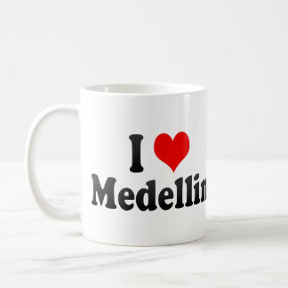 I Love Medellin, Colombia Coffee Mug