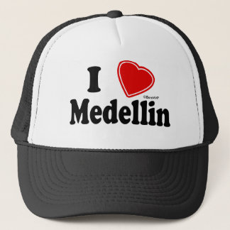 I Love Medellin Trucker Hat