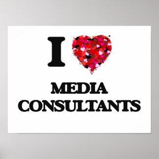 I Love Media Consultants Poster