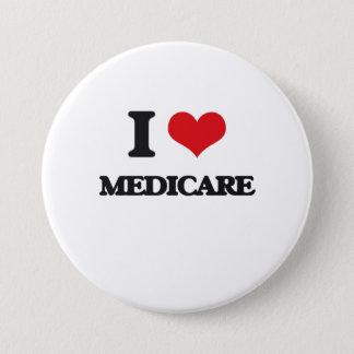 I Love Medicare 7.5 Cm Round Badge