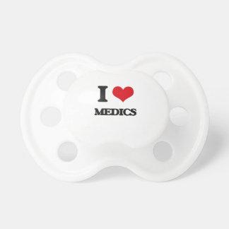 I love Medics Baby Pacifiers