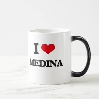 I Love Medina Magic Mug