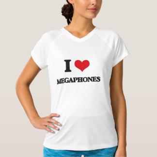 I Love Megaphones Tshirts