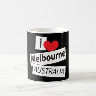 I Love Melbourne Australia Coffee Mug