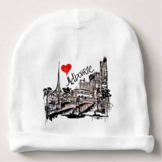 I love Melbourne Baby Beanie