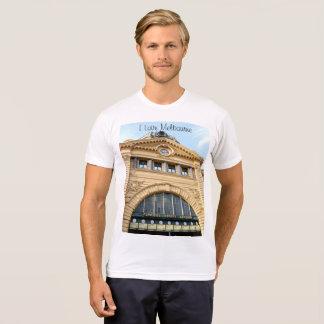 I Love Melbourne (Flinders Street station) T-Shirt