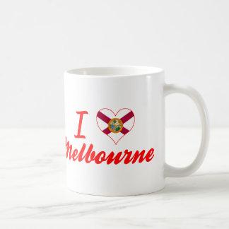 I Love Melbourne, Florida Coffee Mugs