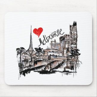 I love Melbourne Mouse Pad
