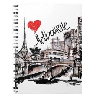 I love Melbourne Notebook