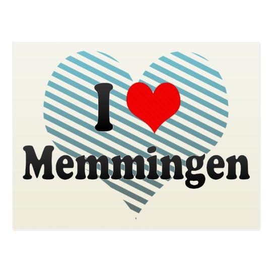 I Love Memmingen, Germany Postcard