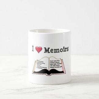 I love memoirs coffee mug
