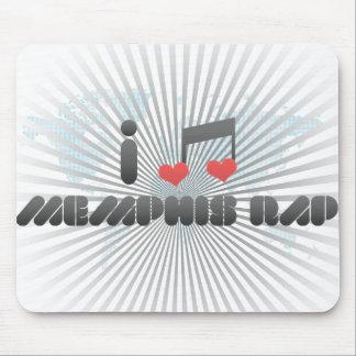 I Love Memphis Rap Mousepads