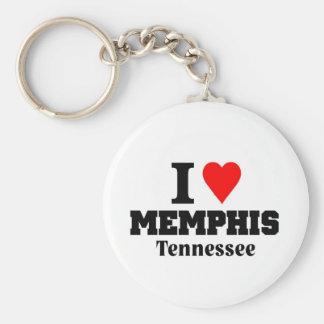 I love Memphis Tenessee Key Ring
