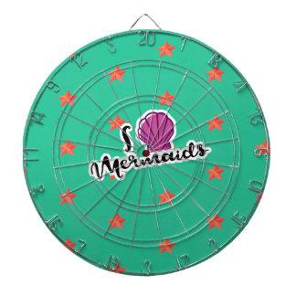 I_love_mermaids Dartboard