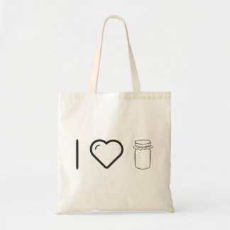 I Love Mermelades Budget Tote Bag