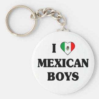 I love Mexican Boys Key Ring