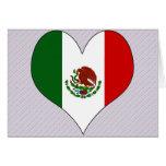 I Love Mexico Card