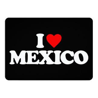 I LOVE MEXICO INVITE