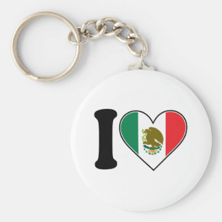 I Love Mexico Key Ring