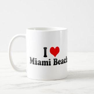 I Love Miami Beach, United States Coffee Mug