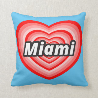 I love Miami Cushion