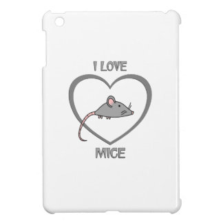 I Love Mice iPad Mini Cases
