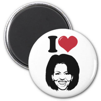 I Love Michelle Obama Magnet