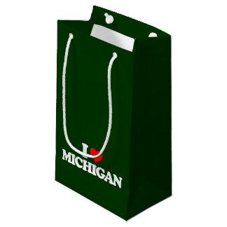 I LOVE MICHIGAN SMALL GIFT BAG