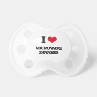 I Love Microwave Dinners Baby Pacifiers