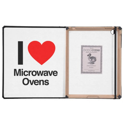 i love microwave ovens iPad cases