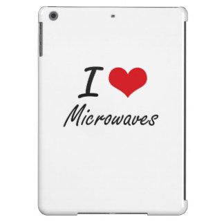 I Love Microwaves iPad Air Cases
