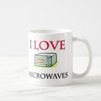 I Love Microwaves Coffee Mugs