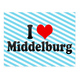 I Love Middelburg, South Africa Postcard