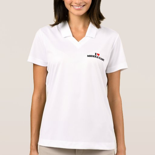 I LOVE MIDDLE EAST POLOS