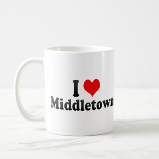 I Love Middletown, United States Coffee Mug