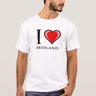 I Love Midland T-Shirt