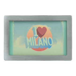 I love Milano Rectangular Belt Buckles