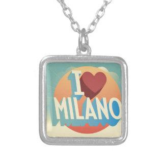 I love Milano Square Pendant Necklace